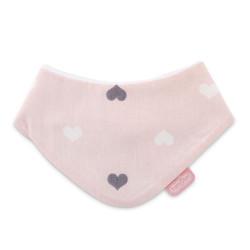 BabyJem Triangle Bib, Pink