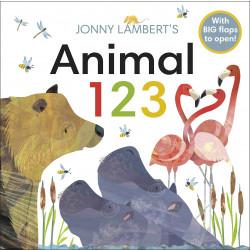 Jonny Lambert's Animal 123 Board book