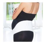 حزام دعم الحمل من بيبي جيم مقاس كبير, أبيض