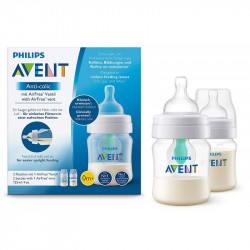 Philips Avent - Pack Of 2 AirFree Anti Colic Bottles - 125 Ml
