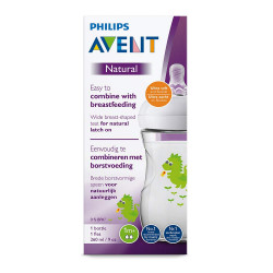 Philips Avent Natural Baby Bottle 260 ml single, Dragon