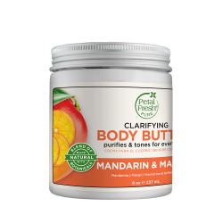Petal Fresh Mandarin & Mango Body Butter, Clarifying, 237 ml