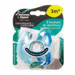 Tommee Tippee Closer to Nature +3 months Teether, 2 pieces, Blue