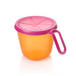 Tommee Tippee Explora Snack and Go Pot, Pink