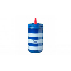 Tommee Tippee Insulated Free Flow Hard Spout Sippy Cup, Navy Blue