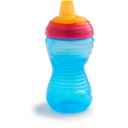Munchkin 10 Ounce Mighty Grip Spill Proof Cup - Blue