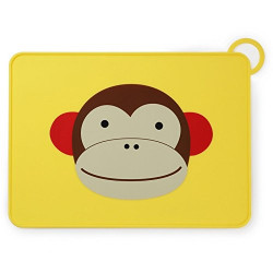 Skip Hop Baby Zoo Little Kid Placemat - Monkey