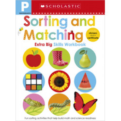 Scholastic Early Learners: Pre-K Extra Big Skills Workbook: Sorting and Matching, 68 pages