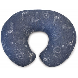 Chicco -  Boppy Pillow Denim Animals