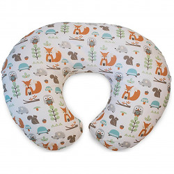 Chicco - Boppy Modern Woodland Cotton Nursing Pillow