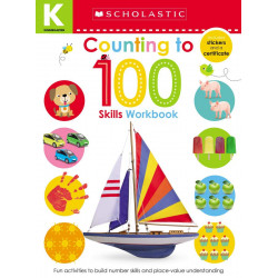 Scholastic Early Learners: Kindergarten Skills Workbook: Counting to 100, 24 pages