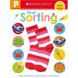 Scholastic Early Learners: Get Ready for Pre-K Skills Sorting Paperback, 24 pages
