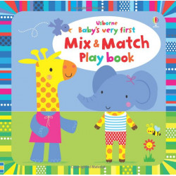 Baby's Very First Mix and Match Playbook Board book