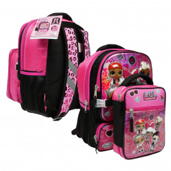 LOL Surprise! Backpack with Lunch Bag, 41 cm