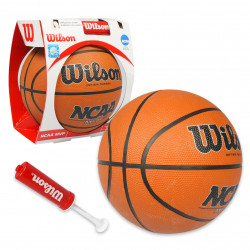 "Wilson Basketball,28.5"" RUBBER with Inflation Pump & Needle"