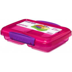 Sistema Small Split Lunch 350ml, Pink