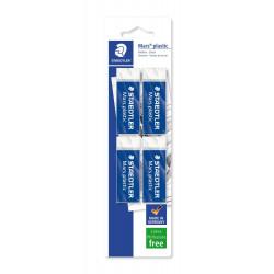 Staedtler Mars® Plastic Eraser in Premium Quality Pack of 4