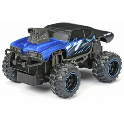 New Bright Remote Control  Mega Muscle Car, Blue