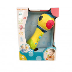 Little Mimos Baby Toy 2 in 1 Microphone Speck, Yellow