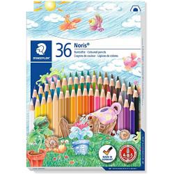 Staedtler Noris 144 Club Colouring Pencil, 36 Shades
