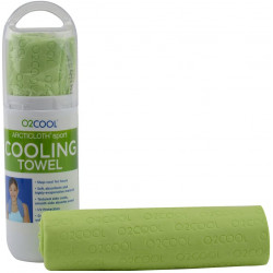 O2COOL ArctiCloth Sport Cooling Towel, Green