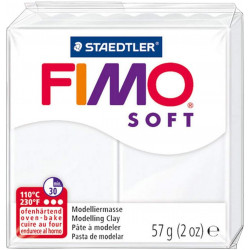Staedtler Fimo Soft Clay 57g, White