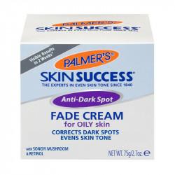 Palmer's Skin Success Anti-Dark Spot Fade Cream for Oily Skin with Songyi Mushroom & Retinol, 2.7 oz