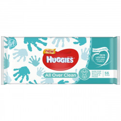 Huggies All Over Clean Baby Wet Wipes, 56 Pieces