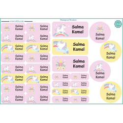 Tob3a Waterproof Stickers, Unicorn
