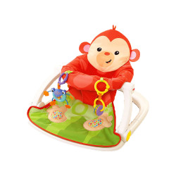 Fisher-Price® Sit-Me-Up Floor Seat With Tray- Monkey