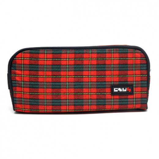 Amigo Large Accessory Pouch, red