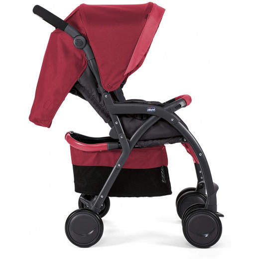 Chicco Simplicity Baby Stroller  0m+, Red