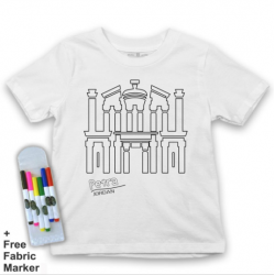 Mlabbas Petra Kids Coloring Tshirt - 2-3 years