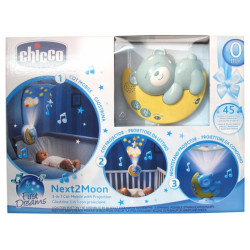 Chicco baby projector Next2Moonboys 20 cm yellow/blue