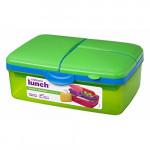 Sistema Lunch Slimline Quaddie, 1.5 L - أخضر