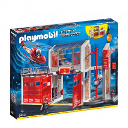 Playmobil Fire Station For Children