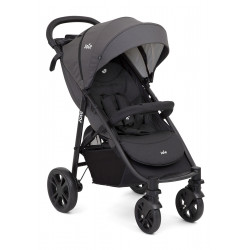 Joie Litetrax 4 Wheel Pushchair Stroller - Coal