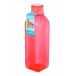 Sistema Hydrate Square  Bottle, 1 L - Pink