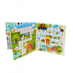 Babbelyo How to use the Pen Activity Book, 4-6 years old