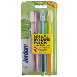 Jordan Toothbrush Classic Hard 3 pack