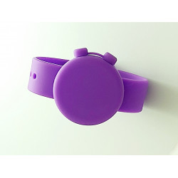 ON The GO Hygiene Watch, Purple-Solid