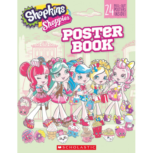 Pullout Poster Book Shopkins Shoppies