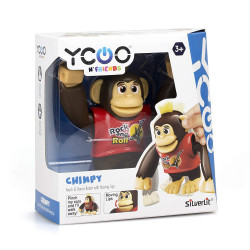 Silverlit Electric Robot Ycoo And Friends Chimpy - 4 Colours