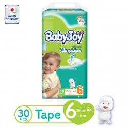 Baby Joy Diapers XXL Size 6, 16+ kg, 30 Pieces