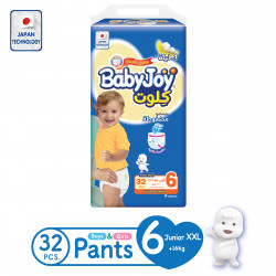 Baby Joy Pants XXL Size 6, 16+ kg, 32 Pieces