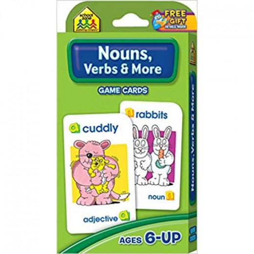 School Zone - Nouns, Verbs & More Game Cards