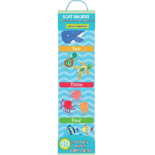 Ocean Counting Bath Cards