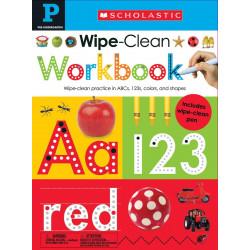 كتاب التدرب على التنظيف بالمسح لما قبل الروضة: المتعلمون الأوائل الدراسيون  مسح - تنظيف