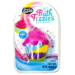 Shimmer & Sparkle: Bath Visi Or Bath Bomb, Cup Cake