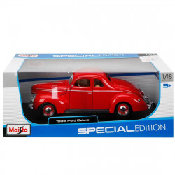 Maisto Special Edition - Ford Deluxe Hard Top (1939, 1/18 scale diecast model car, Red)